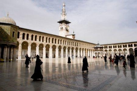 Damascus - Syria UMAYYAD MOSQUE...