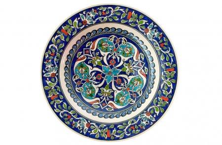 Türkische dekorative Fliesenteller - isoliert
