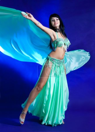 Beautiful women. Belly dancer.