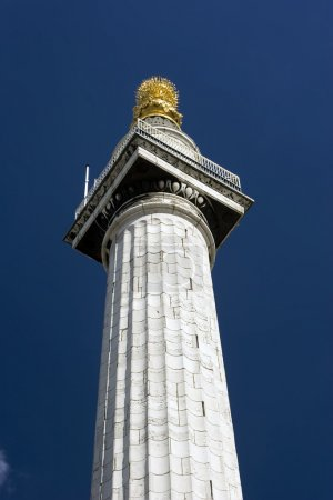 The great fire of London Column