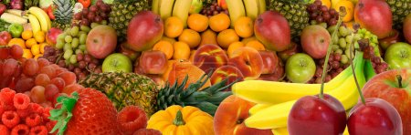 Photo for This is a display of various fruits. - Royalty Free Image