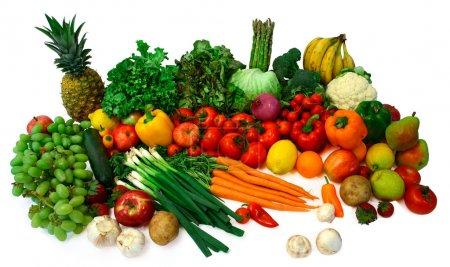 Foto de Este es un primer plano de frutas y verduras - Imagen libre de derechos