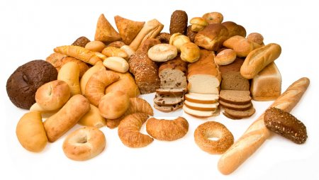 Photo for This is a close-up of various types of bread. - Royalty Free Image