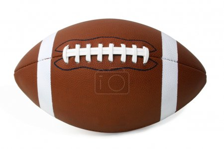 Photo for This is a close-up of a football. - Royalty Free Image