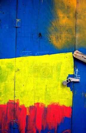 Colorful Abstract Door
