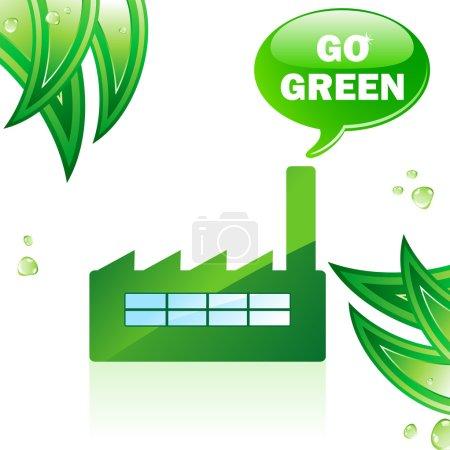 Go Green Glossy Factory.