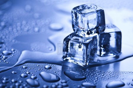 Crystals ice cubes....