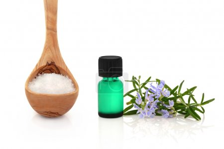 Rosemary Herb and Sea Salt Therapy