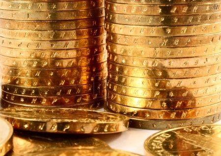 Gold coins macro