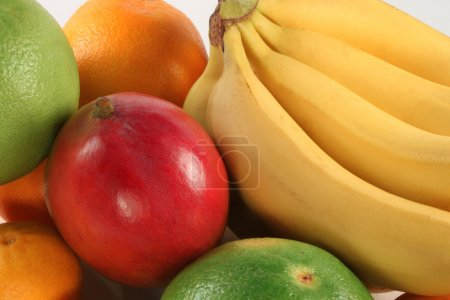Fresh colorful fruits
