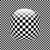 3d shiny sphere