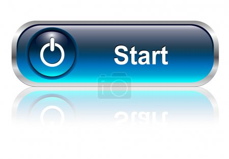 Start icon, button