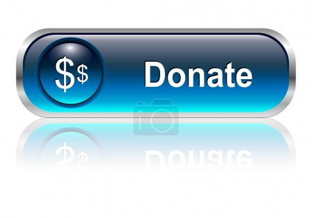 Donate icon, button