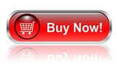 Nákupní košík ikonu, tlačítko