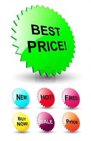 3D stars for discount prices