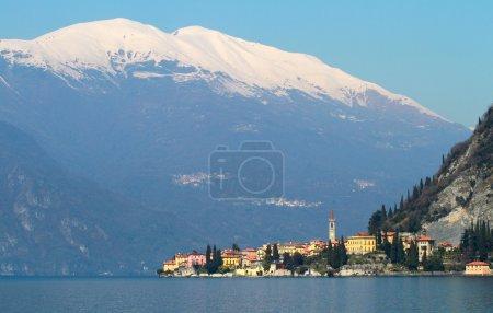 Panoramic view of como lake, Italy