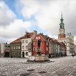Old town hall in Poznan - Poland, photo at 12 mm...