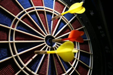 Photo for Dart board in the bar - Royalty Free Image