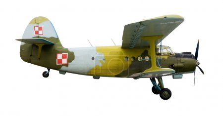 Russian old jet plane