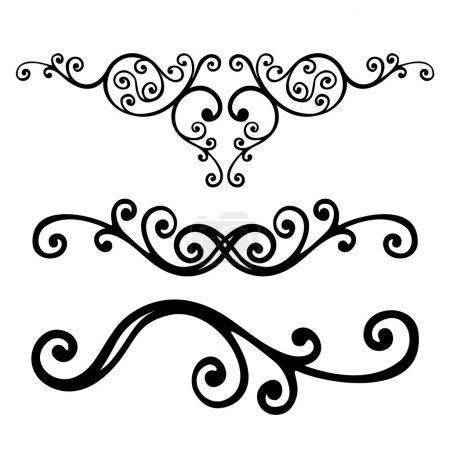 Illustration for Vector ornament In flower style - Royalty Free Image