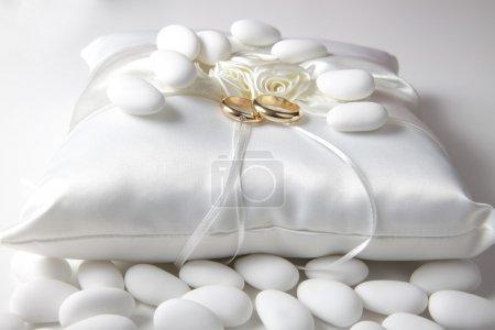 Photo pour Détails pour un mariage - image libre de droit