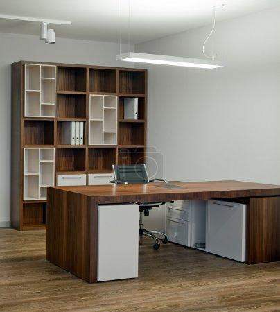 Photo pour Design d'intérieur de bureau élégant et luxueux. N'hésitez pas à consulter mon immense bibliothèque de photos de design d'intérieur de qualité . - image libre de droit