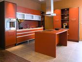 """Постер, картина, фотообои """"красивый и современный кухонный интерьер."""""""