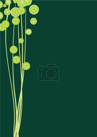 Photo for Abstractfloral image - Royalty Free Image