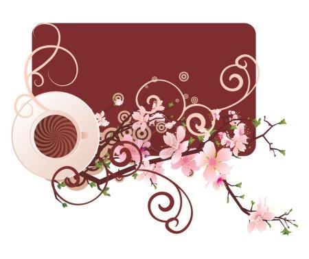 Coffee sakura
