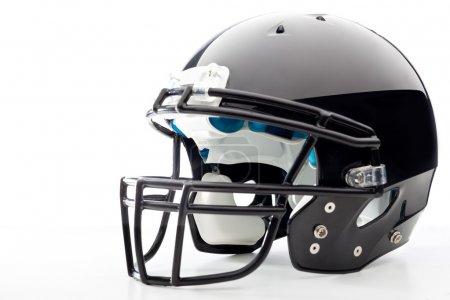 Photo for Football Helmet on white - Royalty Free Image