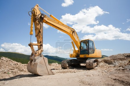 Excavator, digger, earthmover