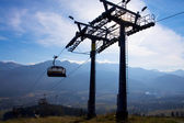 Chair-lift in Tatra Mountains