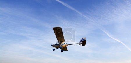 Light plane - air show