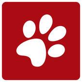 Dog footprint