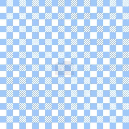 Illustration pour Fond de nappe, design abstrait géométrique - image libre de droit