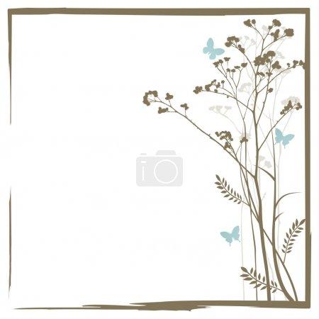 Illustration pour Grunge frame avec un espace pour un texte - image libre de droit