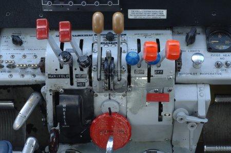 Beech 18 Cockpit