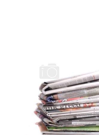 Foto de Los diarios - Imagen libre de derechos