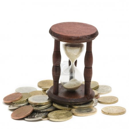Photo pour Concept de temps et d'argent - image libre de droit