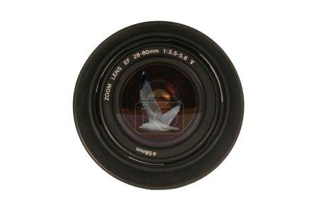 Foto de Una lente de cámara dslr 28-80mm blanco - Imagen libre de derechos