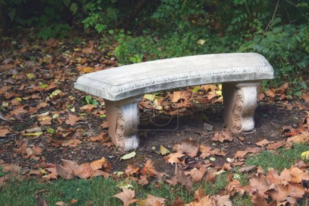 Cement bench