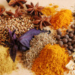 Still-life with various spices...