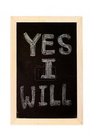 Yes,I will