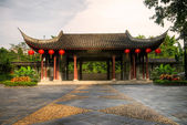 Old Chinese style big house