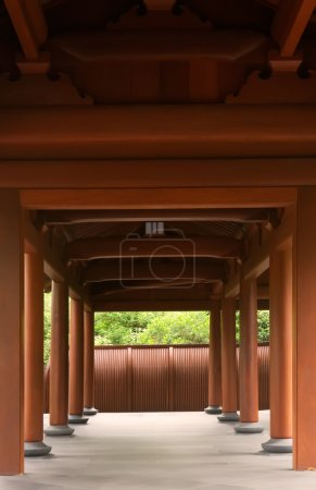 Traditional Chinese corridor