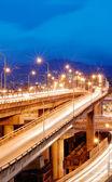 Cityscape of traffic