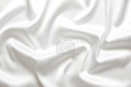 White silk textile background