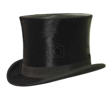 Photo for Top Hat isolated on white background - Royalty Free Image