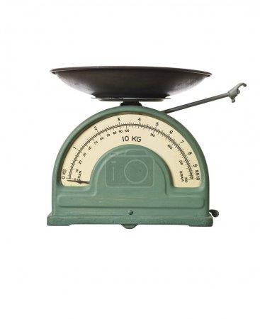 Retro weight scale