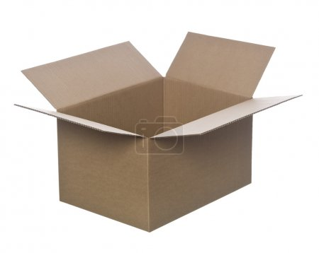 Photo for Open cardboard box - Royalty Free Image